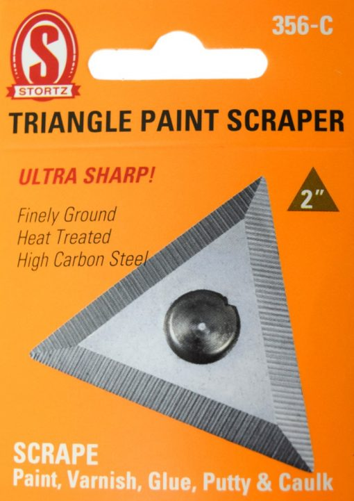 "356-C 2"" Triangle Paint Scraper"
