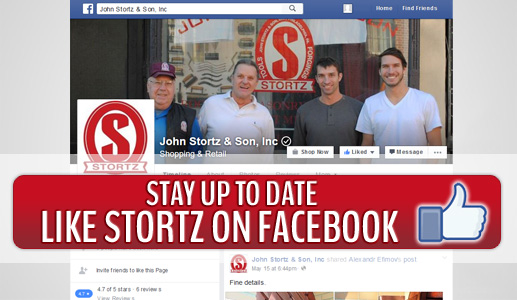 Like John Stortz & Son, Inc on Facebook