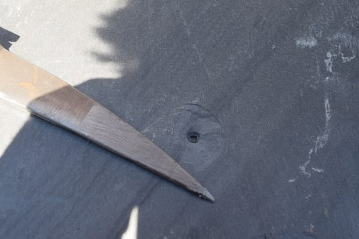 Slate Punch with Slate Hammer