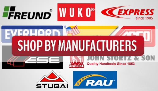 Roofing Tools from Wuko, Express, Freund, Everhard, ESE, Stubair, Rau & Stortz