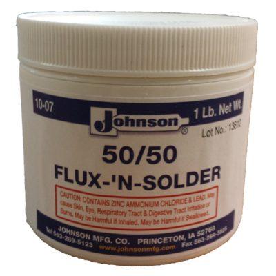 Johnson-50-50 Flux-n-Solder