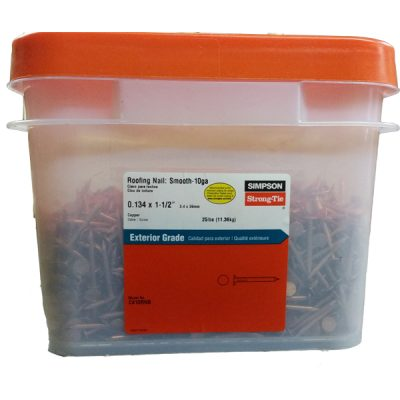 Copper Nails Box - 25 lb
