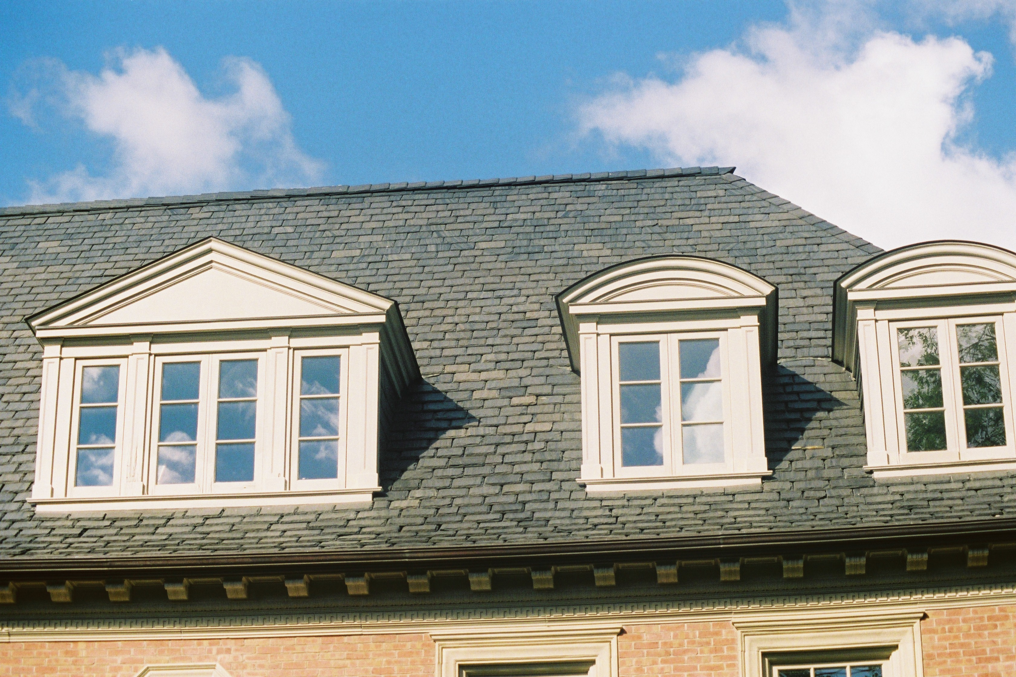 textural slate roofs u2013 the uses of slates of rougher surface textures and thicknesses mixed throughout a roof creates a textural slate roof