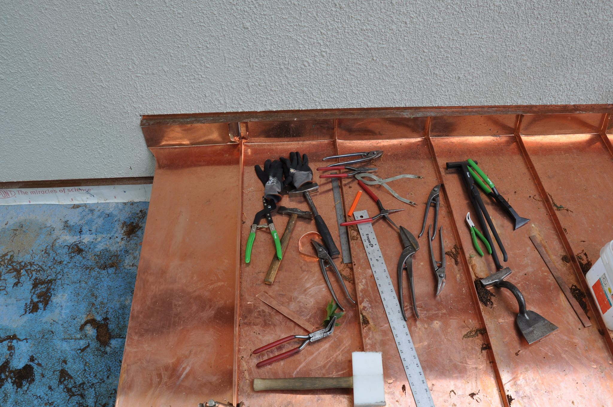 Cooper Roofing Job Pliers and Snips