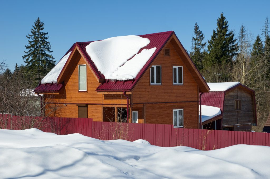 Snow Guards on Residential Metal Roof