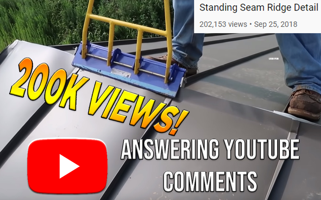 Ridge Detail – Answering YouTube Comments